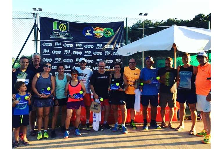 GREAT TOURNAMENT OF VETERANS FROM PADEL TO THE CLUB !!!